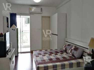 VR Global Property ให้เช่าคอนโด Supalai City Resort รัชดา-ห้วยขวาง 30 ตร.ม. ห้องสตูดิโอ เฟอร์นิเจอร์ เตียงนอน 6 ฟุตพร้อมฟูกที่นอนพร้อม