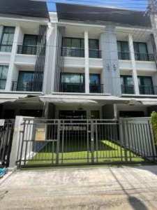 ขายทาวน์โฮม 3 ชั้น บ้านกลางเมือง รัตนาธิเบศร์ ซอย13 เมืองนนทบุรี 18.1 ตร.ว. โทร : 0641595544